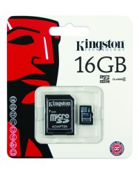 MICRO SDHC 16 GB Kingston CLASS 4