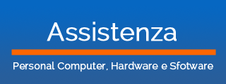 Assistenza Personal Computer, Hardware e Software